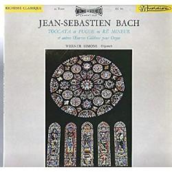 Disque Vinyle 33 tours Jean Sebastien Bach Toccata et fugue en ré mineur collection occasion