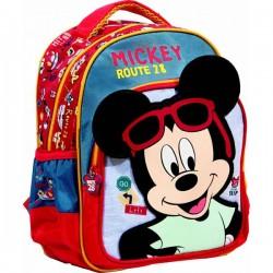 Sac à dos Mickey 31 cm qualité supérieure licence officielle Disney cartable scolaire enfant maternelle neuf