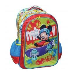 Sac à dos Mickey 41 cm qualité supérieure licence officielle Disney cartable scolaire enfant neuf