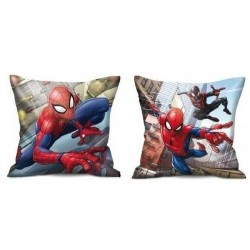 Coussin Spiderman licence officielle marvel 40 x 40 cm DECORATION CHAMBRE IDEE CADEAU ANNIVERSAIRE NOEL NEUF