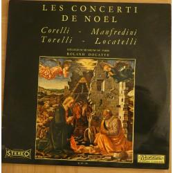 Disque Vinyle 33 tours Les Concert De Noël - Corelli, Manfredini, Torelli, Locatelli collection occasion