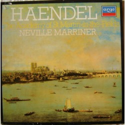 COFFRET 3 DISQUES Vinyle 33 tours Neville Marriner The Academy Of Saint Martin-In The-Fields Haendel collection occasion
