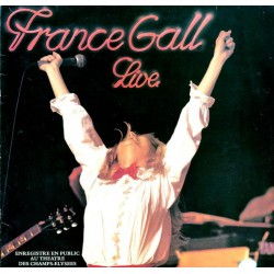 Disque 2 Vinyles 33 tours LP Live - France Gall 16 titres collection occasion