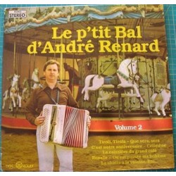 Disque Vinyle 33 tours Le P'tit Bal D'andré Renard volume 2 collection occasion