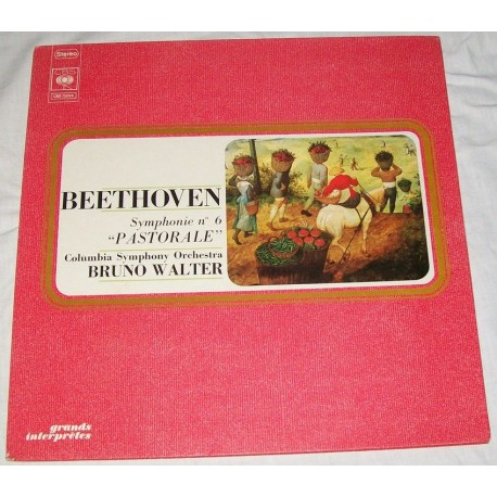 Disque Vinyle 33 tours Beethoven Symphonie n° 6 pastorale - Columbia Symphonie Orchestra Walter collection occasion