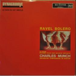 Disque Vinyle 33 tours Ravel: Bolero - Munch musique classique collection occasion