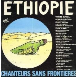 Disque Vinyle 33 tours Chanteurs Sans Frontieres - Ethiopie Auffray,Balasko,Barbelivien... collection occasion