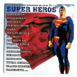 CD musique rare Les meilleurs musiques de film vol. 1 Super héros NEUF