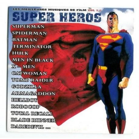 musique Les meilleurs musiques de film vol. 1 Super héros CD rare