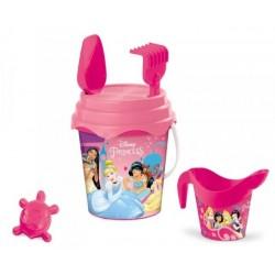 Seau de plage bac a sable Princesse + accessoires 6 pièces licence Disney enfant plein air neuf