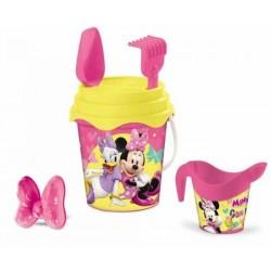 Seau de plage bac a sable Minnie + accessoires 6 pièces licence Disney enfant plein air neuf