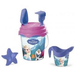 Seau de plage bac a sable La reine des Neiges Frozen + accessoires 6 pièces licence Disney enfant plein air neuf