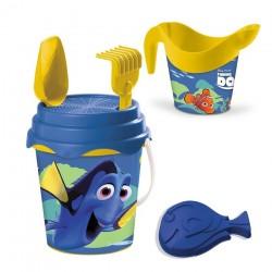 Seau de plage bac a sable Dory + accessoires 6 pièces licence Disney enfant plein air neuf
