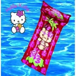 Matelas gonflable Hello Kitty 180x50 cm mer et piscine enfant norme CE neuf