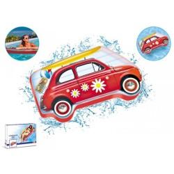 Matelas JUMBO VINTAGE CAR 183 x 97 cm mer et piscine adulte Mondo norme CE neuf