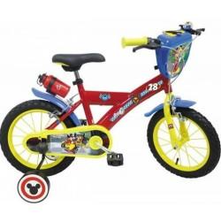 Vélo 14 Pouce a partir de 5 ans Mickey licence officielle Disney garcon idée cadeau anniversaire noël plein air neuf