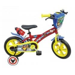 Vélo 16 Pouce a partir de 5 ans Mickey licence officielle Disney garcon idée cadeau anniversaire noël plein air neuf