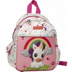 Sac à dos Fisher-Price Licorne 30 cm qualité supérieure licence officielle cartable scolaire enfant maternelle neuf