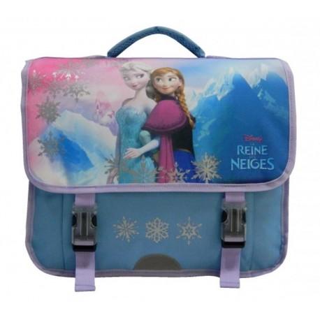 Cartable La Reine des Neiges Frozen 38 cm Qualité supérieure LICENCE OFFICIELLE DISNEY rentrée scolaire neuf
