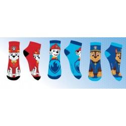 Lot de 3 Paires de chaussettes socquettes garcon Pat Patrouille Paw patrol 23-26, 27-30, 31-34 licence officielle neuve
