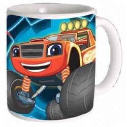Tasse Mug céramique Blaze et les monsters machines enfant garçon idée cadeau anniversaire neuf