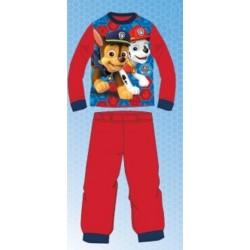 Ensemble Pyjama polaire long Paw Patrol Pat Patrouille rouge du 2 au 6 ans GARCON VETEMENT SOUS LICENCE OFFICIELLE NEUF