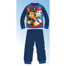 Ensemble Pyjama polaire long Paw Patrol Pat Patrouille bleu du 2 au 6 ans GARCON VETEMENT SOUS LICENCE OFFICIELLE NEUF