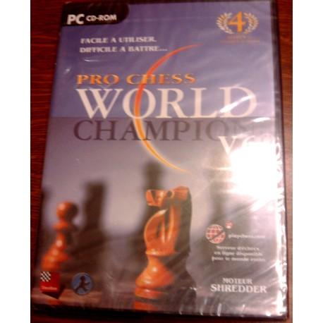 Jeux video échecs pro chess world champion V.6 sur PC neuf sous blister