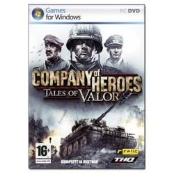 Jeux vidéo Company of Heroes - Tales of Valor sur PC guerre combat occasion bon état général