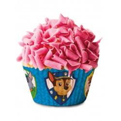 Lot de 50 Moules à cupcakes Pat Patrouille Paw Patrol jetable enfant gouter anniversaire fête neuf