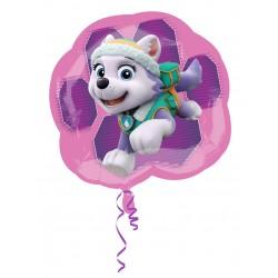 Ballon MAXI aluminium 63 cm Everest Pat Patrouille Paw Patrol fille gouter anniversaire fête neuf