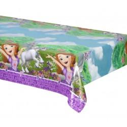 Nappe rectangulaire en plastique jetable Princesse Sofia et la licorne gouter anniversaire fête enfant déco table neuve
