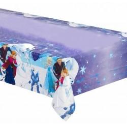 Nappe rectangulaire en plastique jetable La Reine des Neiges Frozen gouter anniversaire enfant fête déco table neuve