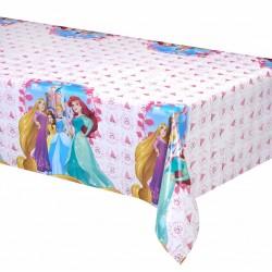 Nappe rectangulaire en plastique jetable Princesses Disney Dreaming gouter anniversaire enfant fête déco table neuve