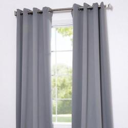 Rideau Isolant thermique et occultant Gris clair 140x240 cm décoration fenêtre de maison neuf