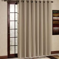 Rideau Isolant thermique et occultant Beige 140x240 cm décoration fenêtre de maison neuf