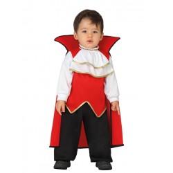Déguisement vampire bébé garçon taille 1/2 ans carnaval anniversaire fete halloween neuf