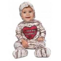 Déguisement combinaison momie bébé taille 6/12 mois ou 1/2 ans carnaval anniversaire fete Halloween neuf