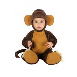 Déguisement combinaison chimpanzé bébé 1/2 ans carnaval anniversaire fête Halloween neuf