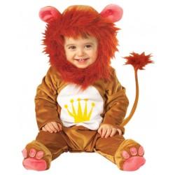 Déguisement combinaison lion bébé 12/18 mois carnaval anniversaire fête noel neuf