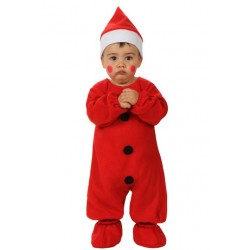 Déguisement combinaison Père Noël complet bébé 0/6 ou 6/12 mois fête noel neuf