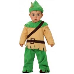 Déguisement garçon robin des bois bébé taille 6/12 mois ou 1/2 ans carnaval anniversaire fete Halloween neuf