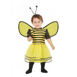 Déguisement robe abeille avec serre-tête bébé 1/2 ans carnaval anniversaire fête Halloween noel neuf