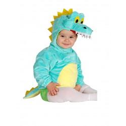 Déguisement combinaison avec capuche crocodile bébé 1/2 ans carnaval anniversaire fête Halloween noel neuf