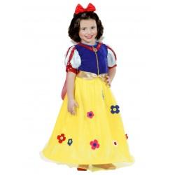 Déguisement blanche neige princesse de la forêt bébé/enfant taille 1/2 ou 2/3 ans carnaval anniversaire fete Halloween neuf