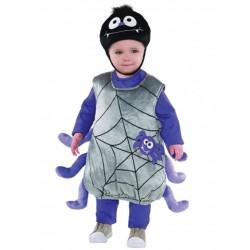 Déguisement araignée bébé/enfant taille 1/2 ou 2/3 ans carnaval anniversaire fete Halloween neuf