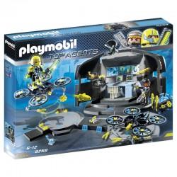 Playmobil 9250 Centre de commandement du Dr. Drone licence officielle jeux idée cadeau anniversaire noël neuf