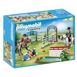 PLAYMOBIL 6930 Country - Parcours d'Obstacles à Cheval licence officielle jeux idée cadeau anniversaire noël neuf