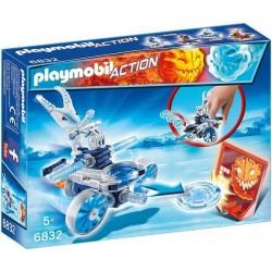 Playmobil 6832 Robot de Glace avec Lance disques licence officielle jeux idée cadeau anniversaire noël neuf
