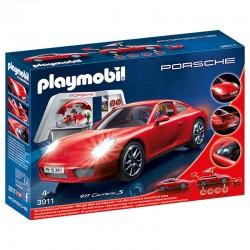 PLAYMOBIL 3911 Atelier avec Voiture Porsche 911 Carrera S licence officielle jeux idée cadeau anniversaire noël neuf